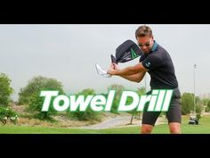 Stephen Deane explains how a simple drill using a towel can impact and improve your game in a number of ways. Golf Driver Swing, Golf Drivers, Body Action, Golf Estate, Golf Instruction, Golf Training, Golf Tips, Drill, Improve Yourself