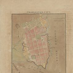 1790 map of Charleston, City :: South Carolina Historic Maps digital collection from the South Caroliniana Library