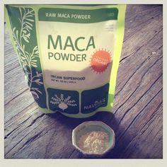 Maca Powder for Energy, Mood & Libido. rich in vitamin B12 and protein. It also keeps you healthy by providing vitamins B1, B2, B12, C and E. It provides plenty of calcium, zinc, iron, magnesium, phosphorous and amino acids. Follow link for energy smoothie recipe.