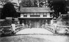 旧水戸城の大手門