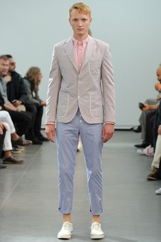 Junya Watanabe Spring 2013 Menswear Collection Slideshow on Style.com