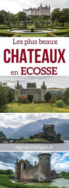 Découvrez les plus beaux châteaux en Ecosse – les châteaux contes de fées, les plus impressionnants, les plus étranges, les plus beaux parcs… il n'y a plus qu'à choisir pour établir votre itinéraire ! | Voyage Ecosse | Ecosse Paysage