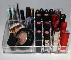 Rosy Disposition: My Makeup Storage