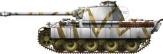 Panzerkampfwagen V Panther Sd.Kfz 171 camouflage patterns - Earl Grey collection