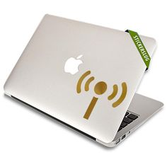 Broadcasting Internet Signal Decal
