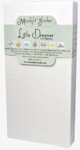 Moonlight Slumber Little Dreamer Dual Firmness Crib Mattress ~ for a little more, scoop up this 2-sided mattress (a firm side for safe infant sleeping, and a more comfy side for toddlers). Vinyl, polyethylene and PVC free, phthalates and lead free, non-toxic waterproof. More at http://www.lucieslist.com/baby-registry-basics/sleeping/#linens ~ $196 Best Crib Mattress, Nursery Furniture, Nursery Bedding, Girl Nursery, Girl Room, Nursery Ideas, Baby Bath Seat, Bath Seats, Bebe Baby