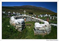 Heilige Quelle auf Achill Island, Irland County Mayo