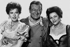 "Maureen O'Hara, John Wayne, & Yvonne DeCarlo ~ ""McClintock"""
