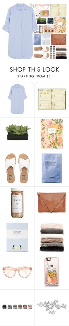 """""""I think it's strange that you think I'm funny 'cause he never did."""" by entirely-simple ❤ liked on Polyvore featuring M.i.h Jeans, AT-A-GLANCE, Ladurée, Lux-Art Silks, Rifle Paper Co, Billabong, CB2, Pull&Bear, Laura Ashley and Nordstrom"""