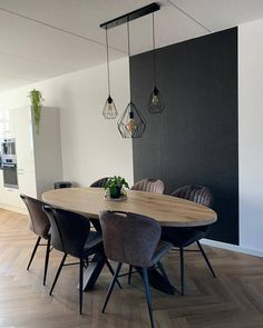 Dining Table In Living Room, Dining Room Design, Interior Design Kitchen, Living Room Decor, Kitchen Dining, Best Dining, Cozy House, Home And Living, Sweet Home