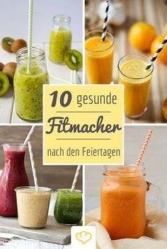 10 vitamingeladene Detox-Drinks – Detox diet – Detox World Best Smoothie, Smoothie Detox, Smoothie Mixer, Detox Cleanse Drink, Detox Kur, Liver Detox, Full Body Detox, Natural Detox Drinks, Best Detox