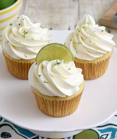 Tracey's Margarita Cupcakes