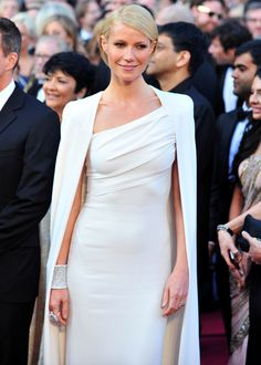 she proves you dont need a boob or a leg (Sorry Ange, but you tried too hard) to be chic. Love you Gwyneth, class all the way!