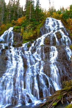 Royal Basin Falls, Olympic National Park