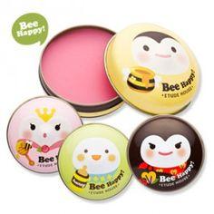 Etude Missing U Bee Happy Lip Balm    http://indonesia.pikomiko.com/beauty/etudehouse/etudehouse-lips/etdlip-024.html