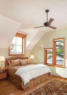 Dormitorio clásico en madera