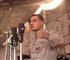 October War, Gamal Abdel Nasser, Egyptian Actress, Old Egypt, Photoshop Photography, World History, Black History, Captain Hat, Actresses