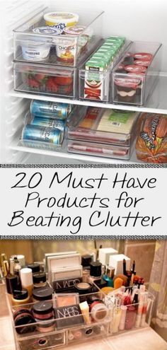20 Must Have Products for Beating Clutter (1)