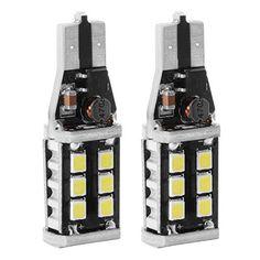 XCSOURCE 2pcs T10 /194/ W5W 283515SMD Ampoules LED Remplacement 10W Blanc pour Lumières de Lecture Automobiles, Lampes de Lecture de…