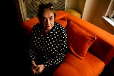 Lee Israel, b. 1939 | First she stole their words. Then she made them up. (Photo: Andrew Henderson/The New York Times)