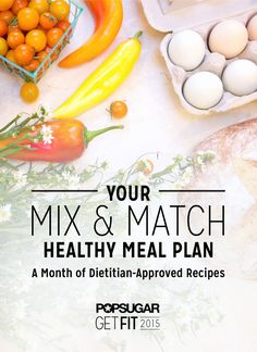 Use our mix and match meal plan to lose weight the healthy way! You pick the recipes you want to make and there are options for meals out too.