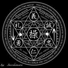 "Ceremonial Magick:  #Ceremonial #Magick ~ ""Summoning Circle,"" by Senshimaru, at deviantART."