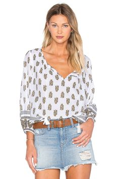 Joie Shalyn Top in Tulum Yellow | REVOLVE