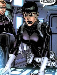 Maria Hill Maria Hill, Fantasy Comics, Female Characters, Fictional Characters, Marvel Women, Disney Art, Girl Power, Avengers, Enemies