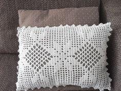 Crochet Pattern Very Romantic Cushion Coverfilet crochet | Etsy