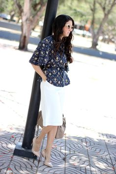 Anyelina's Closet: Cullote pants and Kimono top for  Office