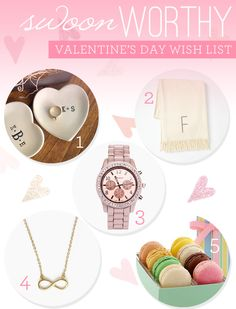 Swoon-Worthy Valentine's Day Wish List   FrockCandy.com #gifts #vday #love