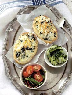 Plnené pečené zemiaky | Recepty.sk