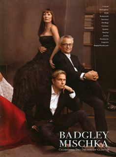 Badgley Mischka photography by Annie Leibovitz