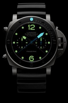 Panerai Luminor Submersible 1950 3 Days Chrono Flyback Automatic Titanio