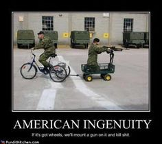 Funny Military Pictures: American Ingenuity