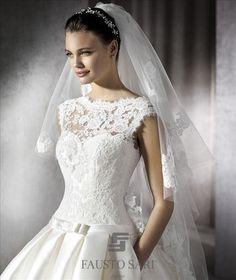 Matrimonio.it | #Abiti e #accessori sposa a Ponte di Piave con Atelier Fausto Sari #velo #veil #love #bride #wedding
