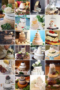 Say Cheese! { Wedding Cakes }