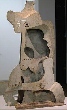 Pablo Picasso - 'Femme au Chapeau' Centre Georges Pompidou, Paris ...
