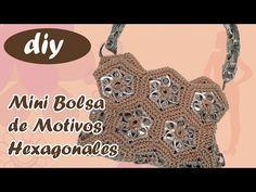 #MiniBolsa #GrannysHexagonales #Crochet