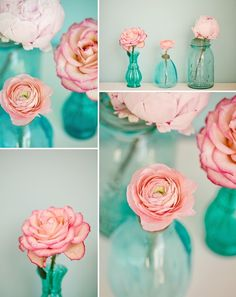 Pink & Mint love this as decor for girls room
