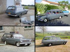 From 2002 to 2016.... Opel Rekord B caravan