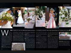 Lucy  Peter, Santa Caterina de Ricci, #Tuscany - #YouYourWedding #magazine (Jan/Feb 06)  - Catmon Photography  +44 (0)20 71005476