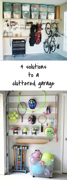 The top 4 Solutions to a cluttered garage - Ohoh Blog