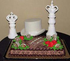 Morris wedding ...The Grooms cake!