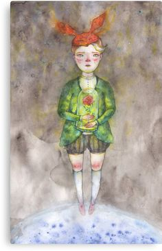 little prience, Exupery. Mixed illustration