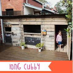 Cubby houses made from recycled, untreated timber. Give your child a place to…