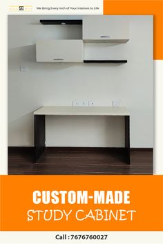 Give your kids a dedicated study corner with a custom-built study unit offering great storage. Study Corner, Apartment Interior Design, Table Desk, Best Interior, Cool Suits, The Unit, Storage, Kids, Furniture