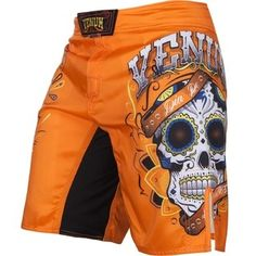 c167023890d5b Venum Santa Muerte ShortsMicrofiber fabric high quality polyester   resistance Flex ™ -System placed in the crotch  increased mobility Side  vents  improved