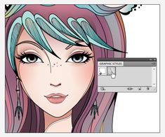 How to create a conceptual portrait using scribble effect in Illustrator