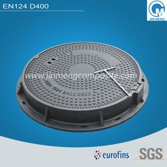 The hot sell product in our company, EN124 D400 clear opening 600, cover 650 composite manhole cover